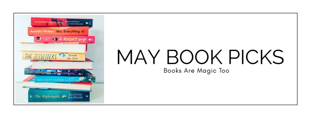 May Book Picks | Books Are Magic Too